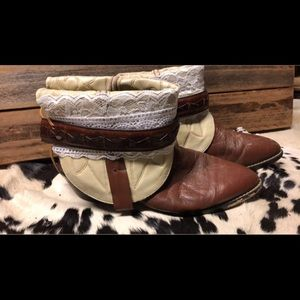 Shoes - The Annie's upcycled cowgirl boots